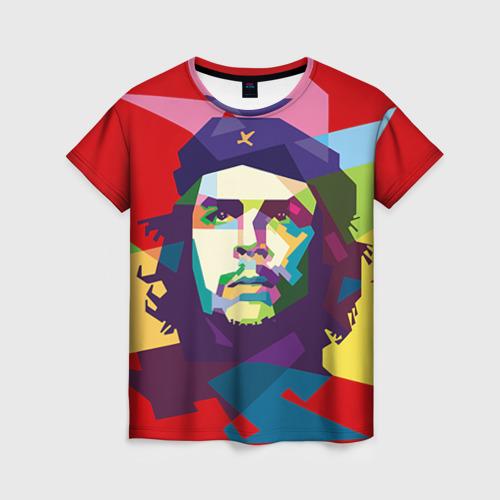 Женская футболка 3D Че Гевара от Всемайки
