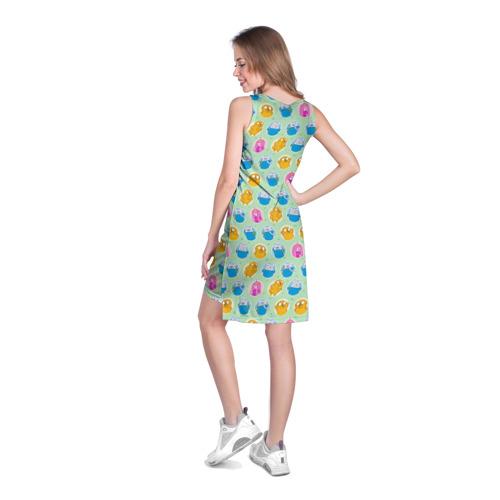 Платье-майка 3D  Фото 04, Паттерн Время Приключений