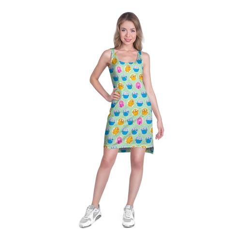 Платье-майка 3D  Фото 03, Паттерн Время Приключений