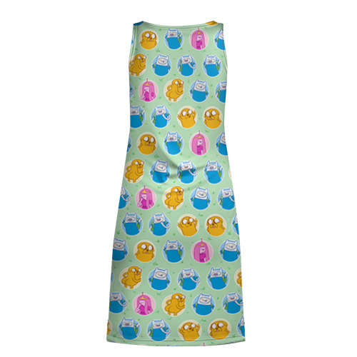 Платье-майка 3D  Фото 02, Паттерн Время Приключений