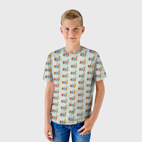 Детская футболка 3D Финн и Джейк