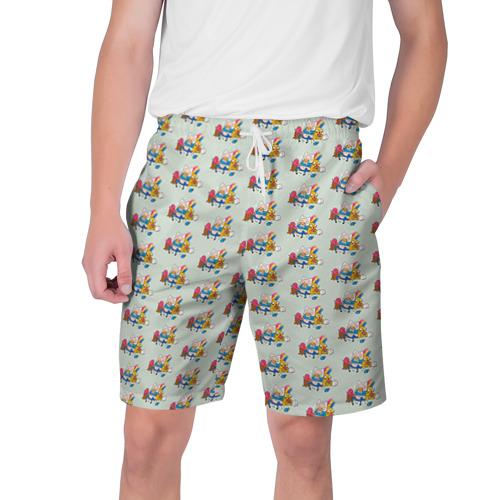 Мужские шорты 3D Финн и Джейк