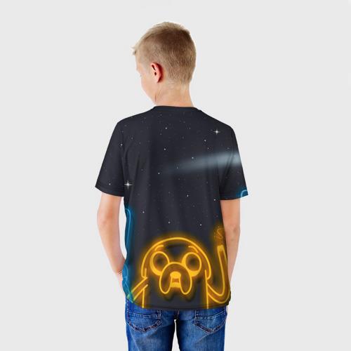 Детская футболка 3D  Фото 02, Комета