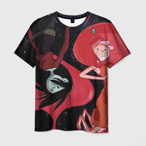 Мужская футболка 3D Марселин и Жвачка