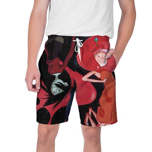 Мужские шорты 3D Марселин и Жвачка
