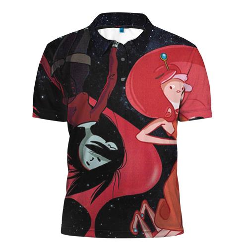 Мужская рубашка поло 3D Марселин и Жвачка