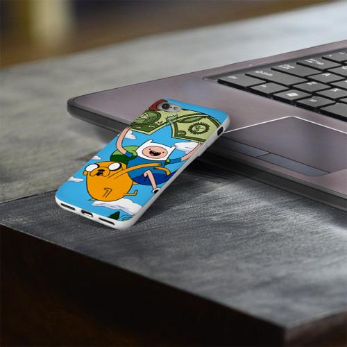 Чехол для Apple iPhone 8 силиконовый глянцевый  Фото 03, Парашют