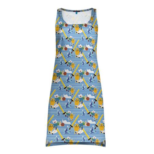 Платье-майка 3D Время Приключений