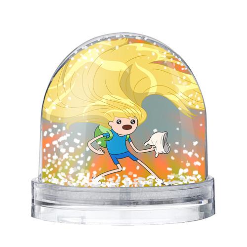 Водяной шар со снегом Волосы Финна