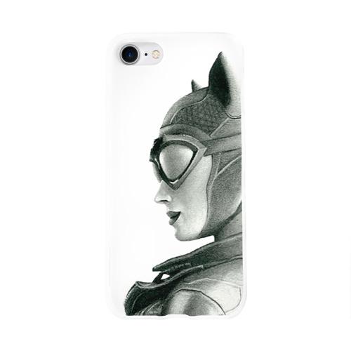 Чехол для Apple iPhone 8 силиконовый глянцевый  Фото 01, Catwoman