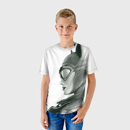 Детская футболка 3D Catwoman