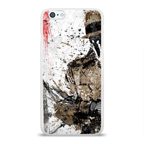 Чехол для Apple iPhone 6Plus/6SPlus силиконовый глянцевый  Фото 01, Роршах