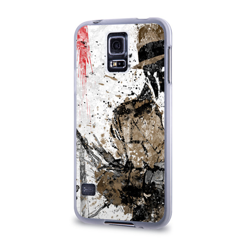 Чехол для Samsung Galaxy S5 силиконовый  Фото 03, Роршах