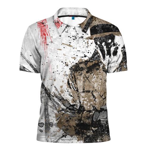 Мужская рубашка поло 3D Роршах