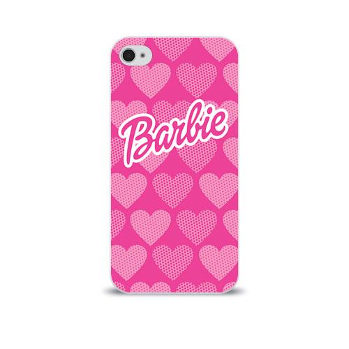 Чехол для Apple iPhone 4/4S soft-touch  Фото 01, Barbie