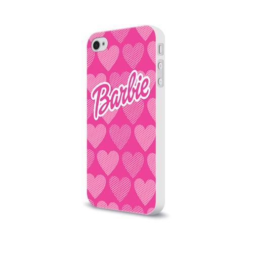 Чехол для Apple iPhone 4/4S soft-touch  Фото 03, Barbie