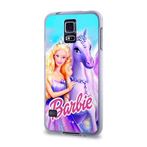 Чехол для Samsung Galaxy S5 силиконовый  Фото 03, Barbie