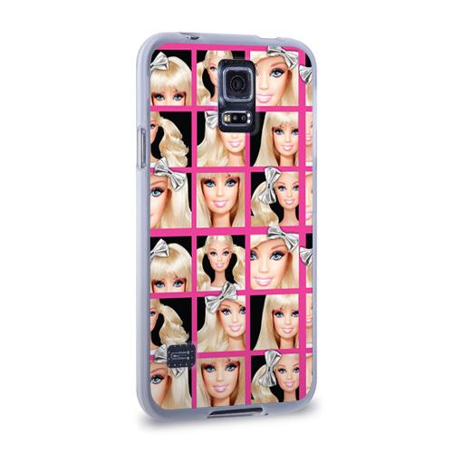 Чехол для Samsung Galaxy S5 силиконовый  Фото 02, Barbie