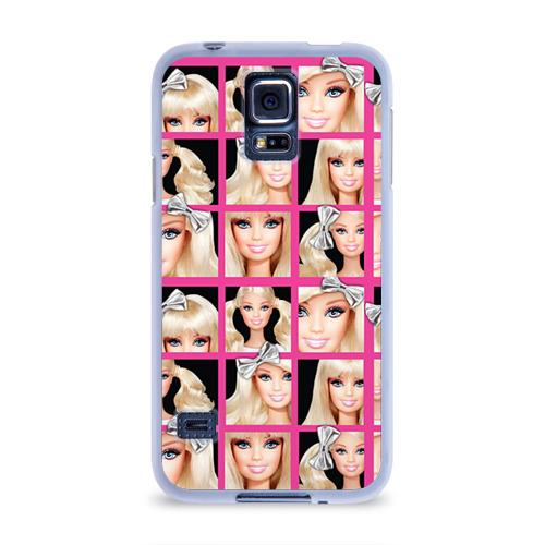 Чехол для Samsung Galaxy S5 силиконовый  Фото 01, Barbie