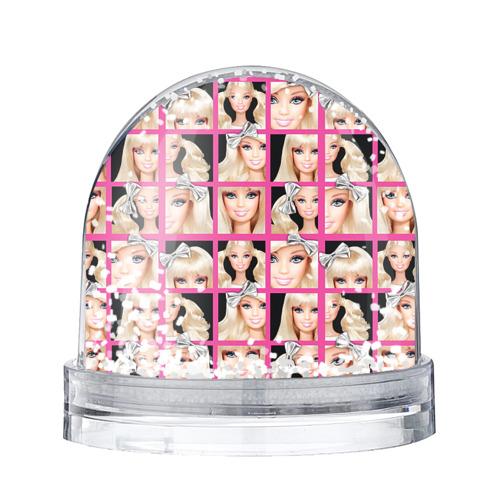 Водяной шар со снегом Barbie