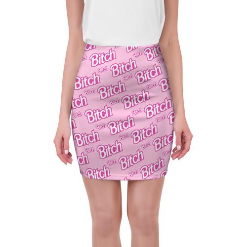 Мини-юбка 3D Bitch от Всемайки