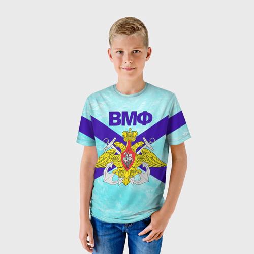 Детская футболка 3D ВМФ России