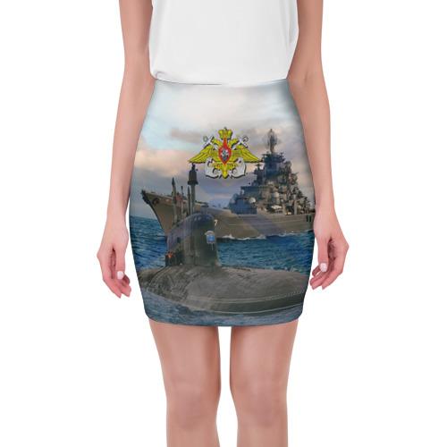 Мини-юбка 3D ВМФ от Всемайки