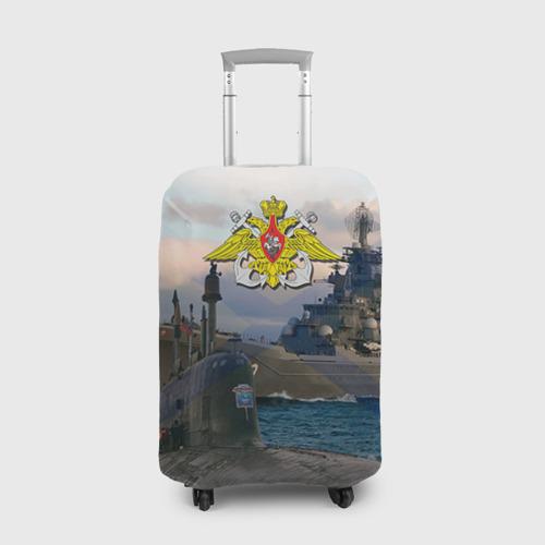Чехол для чемодана 3D  Фото 01, ВМФ