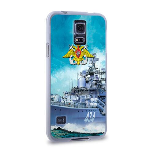 Чехол для Samsung Galaxy S5 силиконовый  Фото 02, ВМФ
