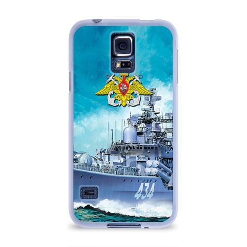 Чехол для Samsung Galaxy S5 силиконовый  Фото 01, ВМФ