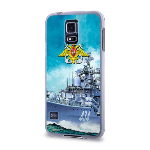 Чехол для Samsung Galaxy S5 силиконовый  Фото 03, ВМФ