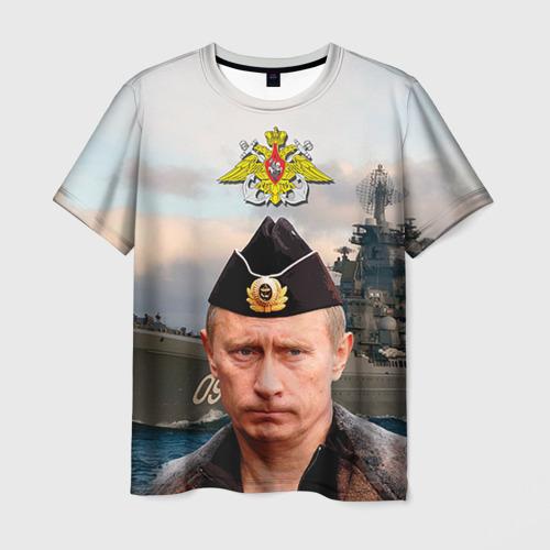 Мужская футболка 3D ВМФ