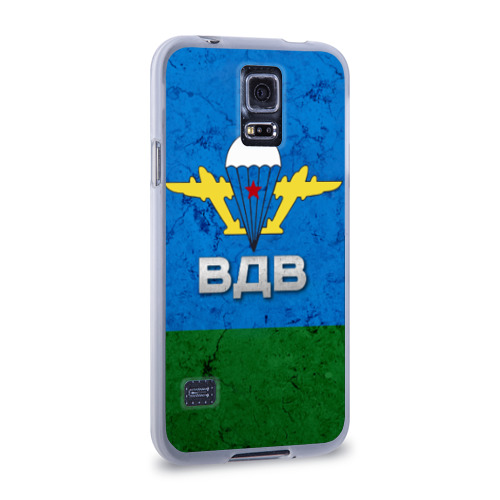 Чехол для Samsung Galaxy S5 силиконовый ВДВ Фото 01