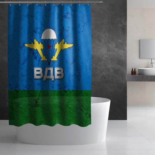 Штора 3D для ванной  Фото 02, ВДВ
