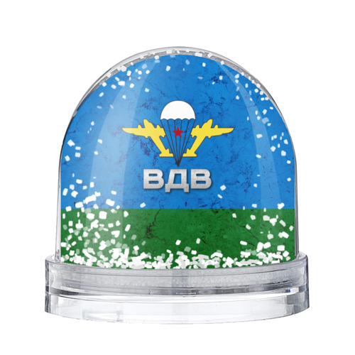 Водяной шар со снегом ВДВ