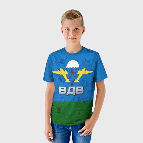 Детская футболка 3D ВДВ