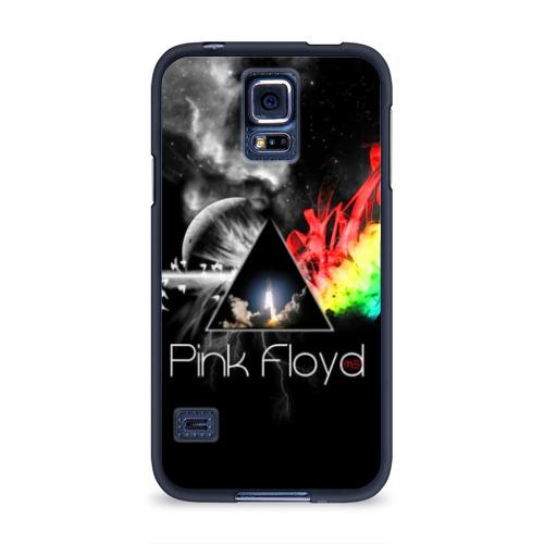 Чехол для Samsung Galaxy S5 силиконовый  Фото 01, Pink Floyd