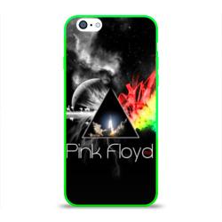 Чехол для Apple iPhone 6 силиконовый глянцевыйPink Floyd
