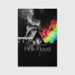 Обложка для паспорта матовая кожаPink Floyd