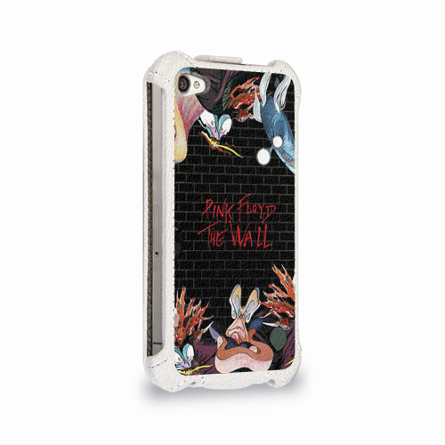 Чехол для Apple iPhone 4/4S flip  Фото 02, Pink Floyd