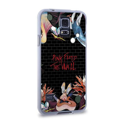 Чехол для Samsung Galaxy S5 силиконовый  Фото 02, Pink Floyd