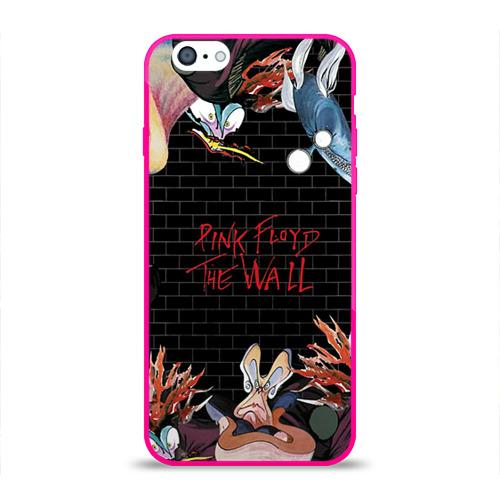 Чехол для Apple iPhone 6 силиконовый глянцевый  Фото 01, Pink Floyd