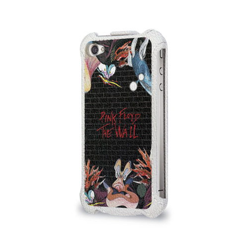 Чехол для Apple iPhone 4/4S flip  Фото 03, Pink Floyd