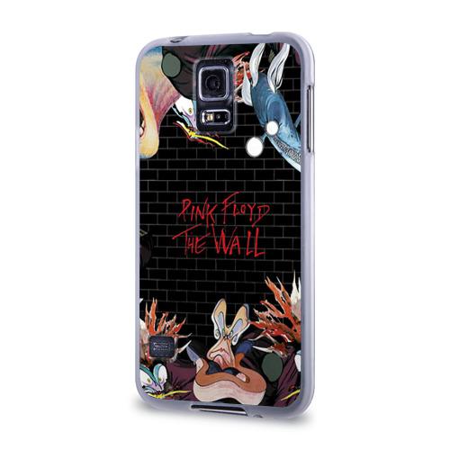Чехол для Samsung Galaxy S5 силиконовый  Фото 03, Pink Floyd