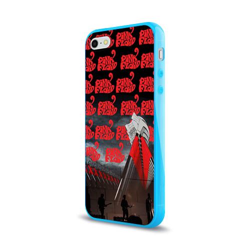 Чехол для Apple iPhone 5/5S силиконовый глянцевый  Фото 03, Pink Floyd