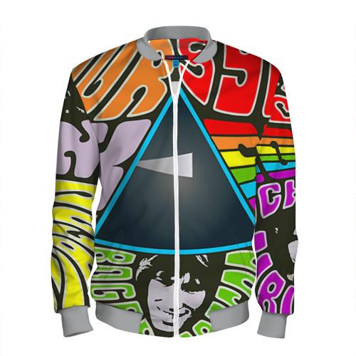 Мужской бомбер 3D Pink Floyd