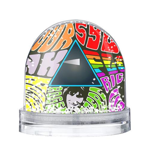 Водяной шар со снегом Pink Floyd