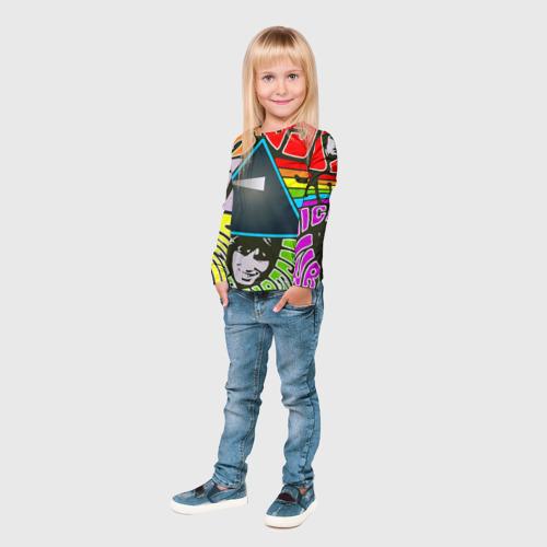 Детский лонгслив 3D  Фото 04, Pink Floyd