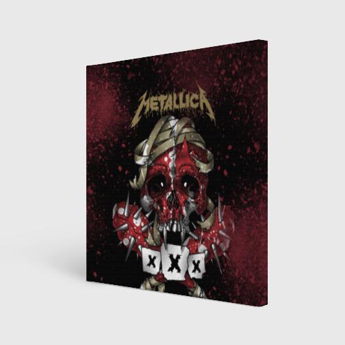 Холст квадратный Metallica