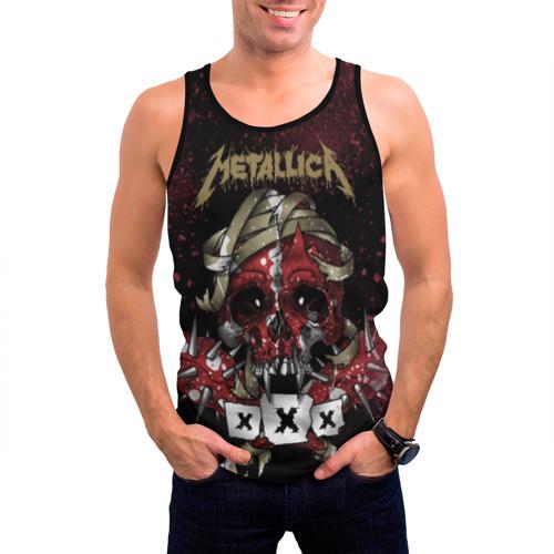 Мужская майка 3D Metallica Фото 01